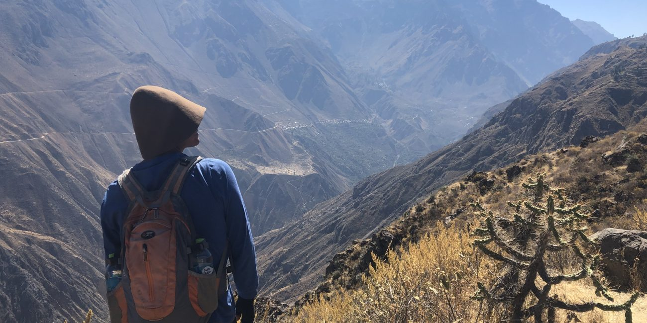 panorama colca canyon