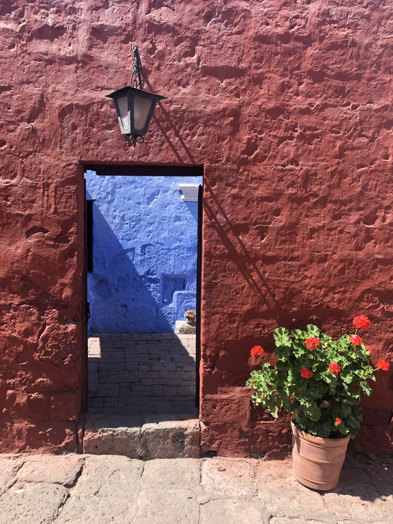 Scorcio del monastero di Santa Catalina