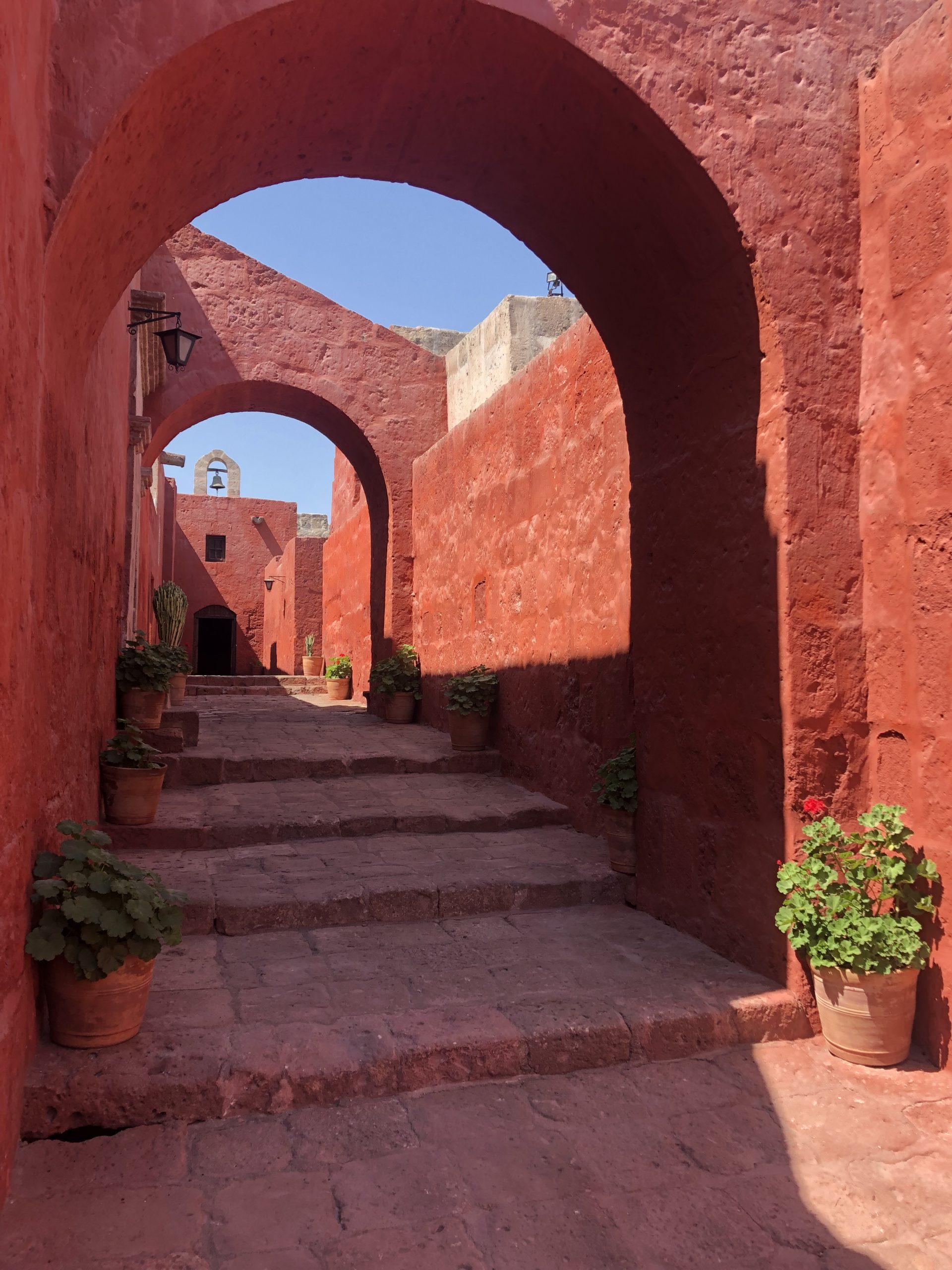 I colori del monastero di Santa catalina