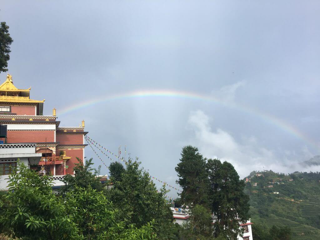 Arcobaleno a namo buddha