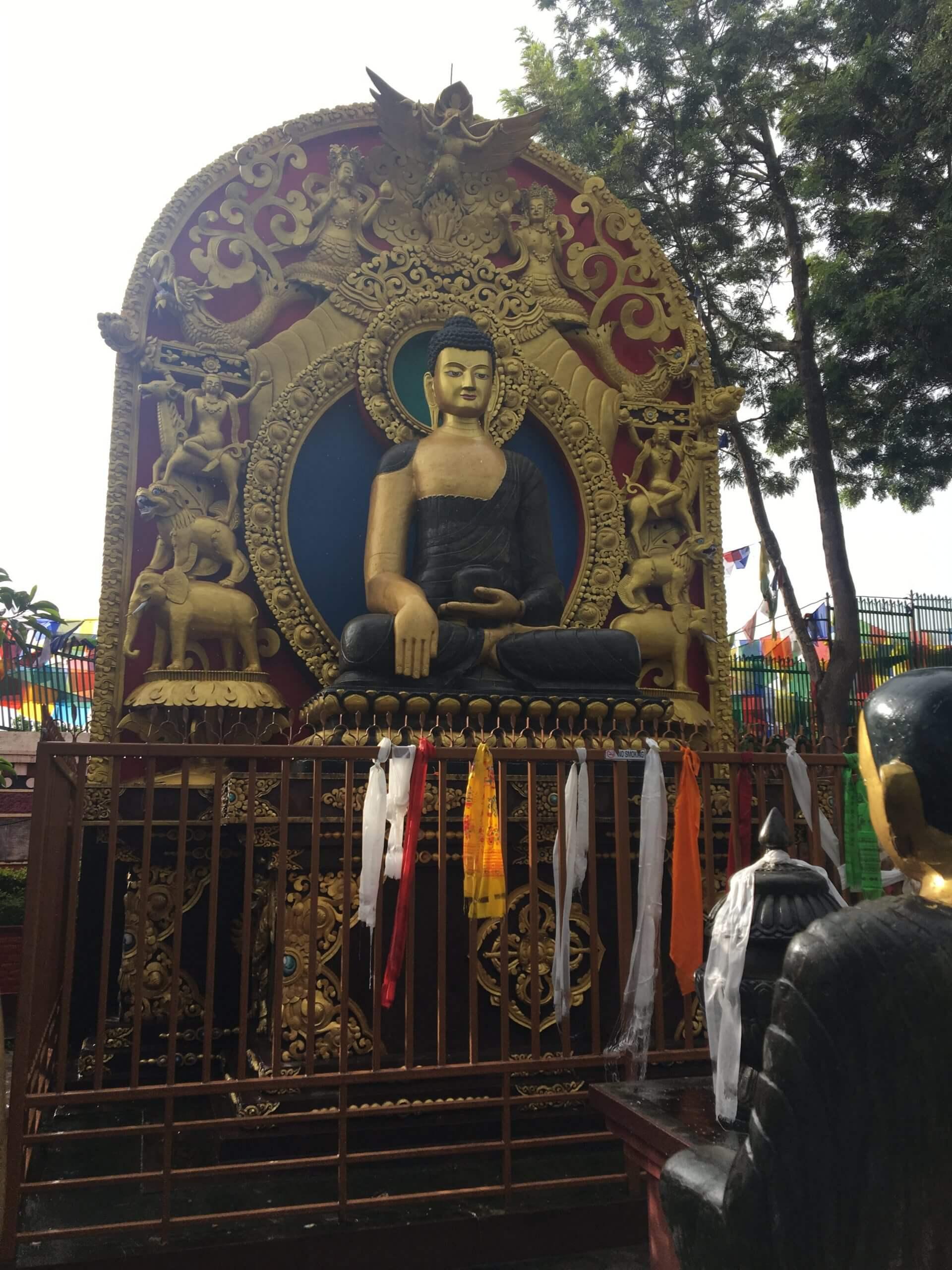 scorcio del esterno di namo buddha