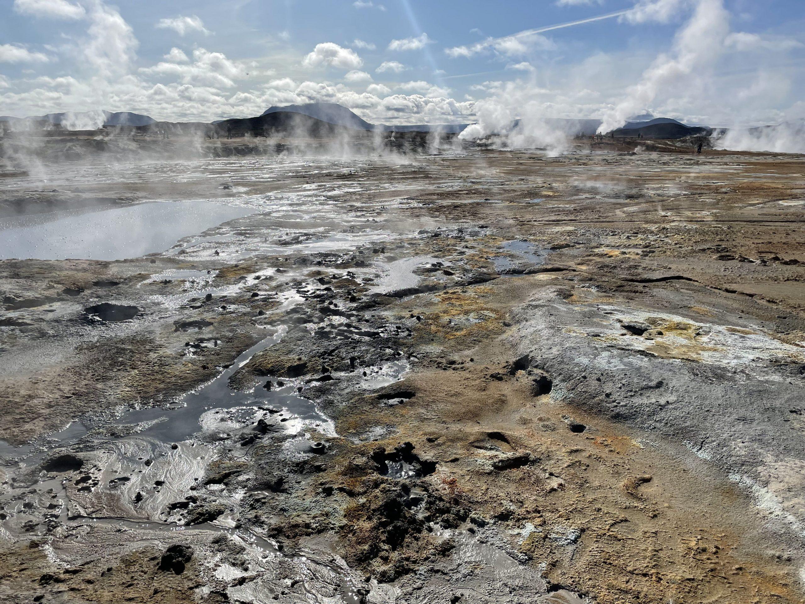 Hverir lago di myvatn