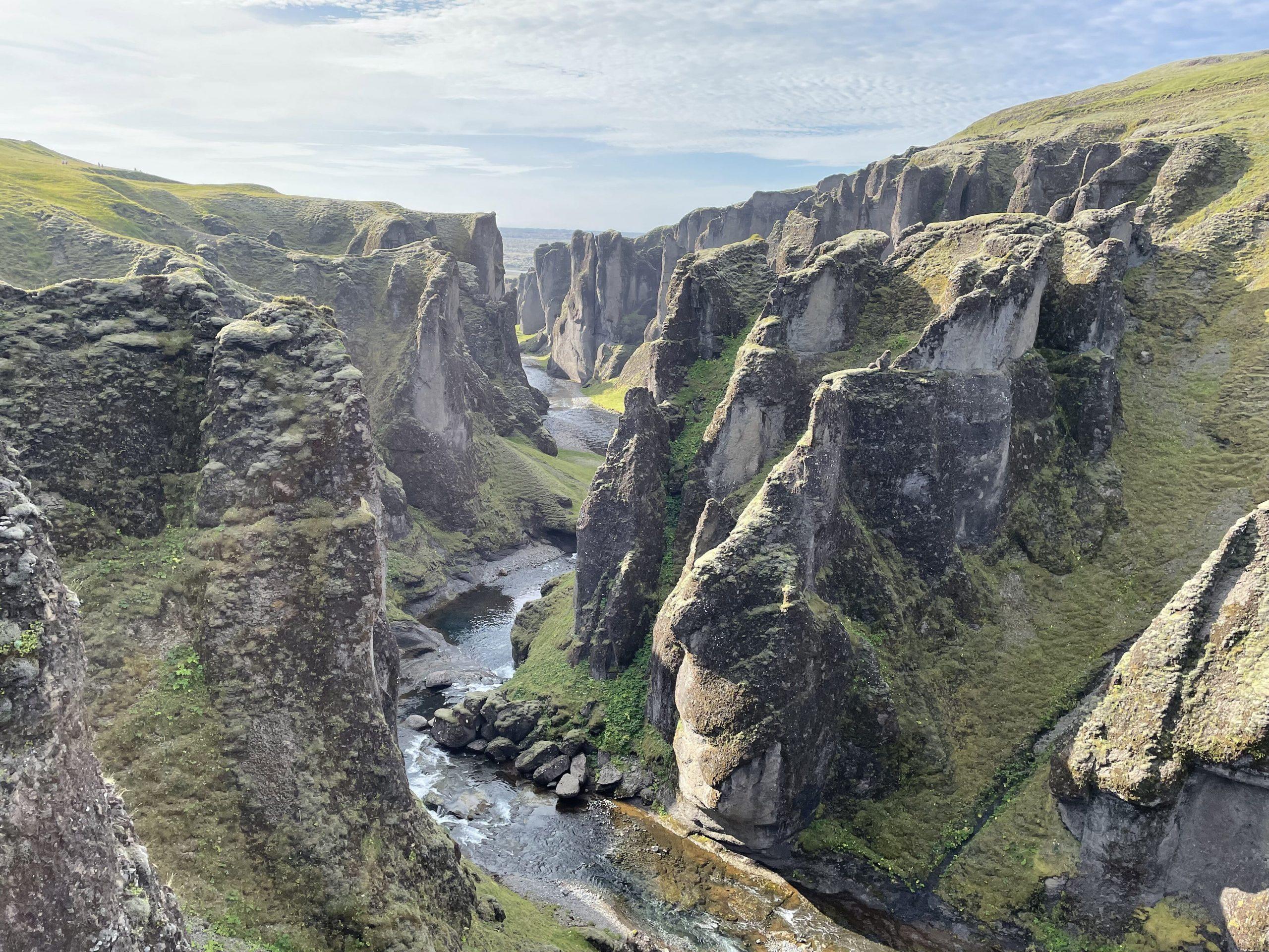 canyon itinerario islanda